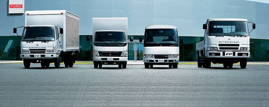 Range : Light Duty Truck - Canter - Fuso official website